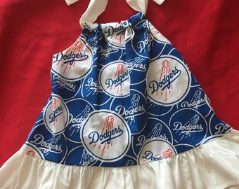 Los Angeles Dodgers Baby Dress Size 6 Months
