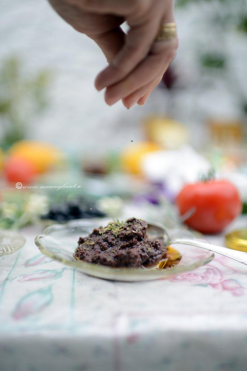 Handmade Olive Paste from Kalamata olives Artisan Olive image 0
