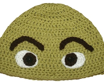 c7e0861b264 Hand Crocheted Shrek inspired Hat HH 042