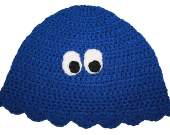 Hand Crocheted Ghost Hat HH 023