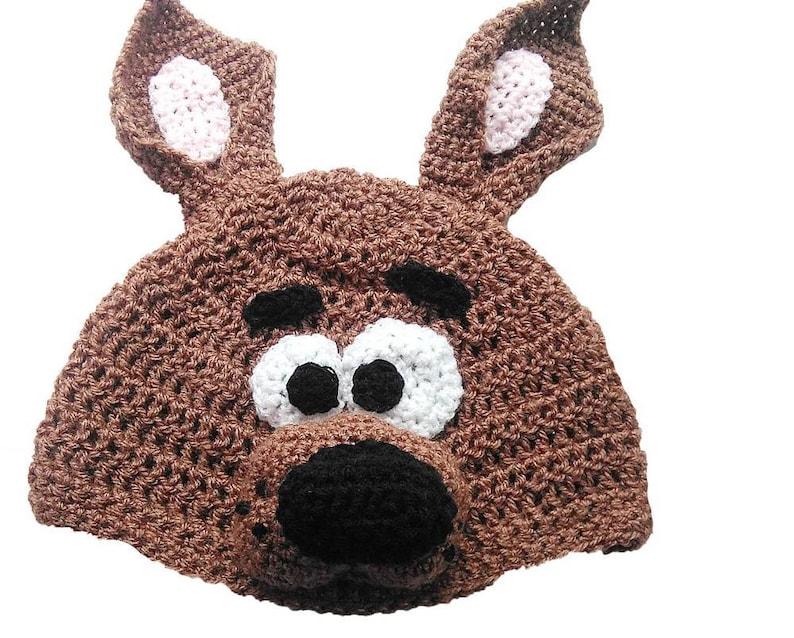 Hand Crocheted Scooby Doo Hat HH 228  a54dbb44b18d