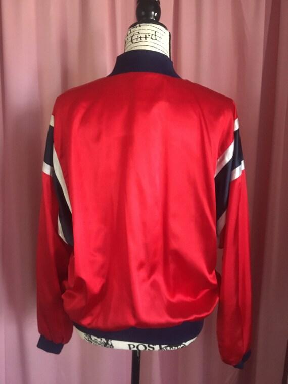 LIZSPORT Boxing Set // Red Athletic Jacket & Boxe… - image 4