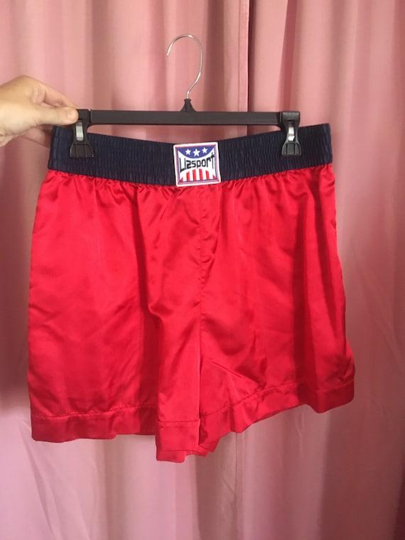 LIZSPORT Boxing Set // Red Athletic Jacket & Boxe… - image 6