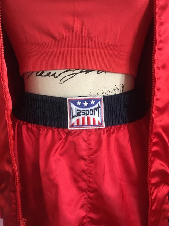 LIZSPORT Boxing Set // Red Athletic Jacket & Boxe… - image 8