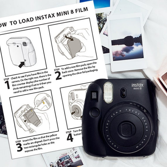 Polaroid Instax Mini 8 Instructions More In Depth Detail On Etsy