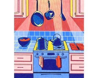 Wednesday Night Giclee Art Print