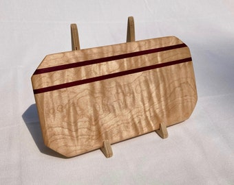 Double Striped Maple Cheese Board