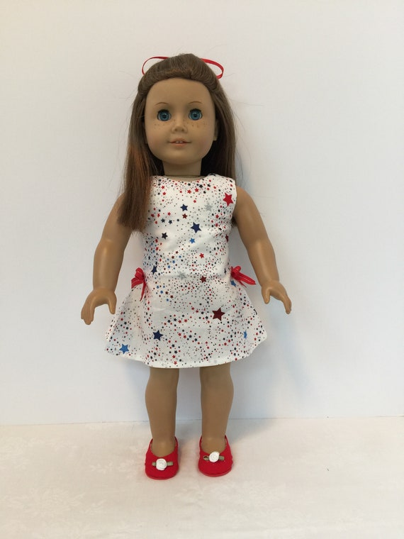 d49763a1c 18 American Made Girl Doll Clothing Patriotic Dress