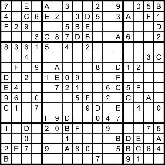photo relating to Sudoku 16x16 Printable identify Hexadoku sudoku 16x16 16x16 sudoku sudoku print mega sudoku Electronic Obtain sudoku 16 sudoku complicated significant sudoku sudoku downloadVol 2