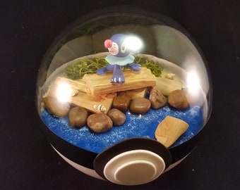 Popplio Pokemon Diorama (Paradise Ball)