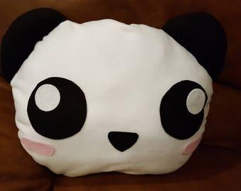 Large Panda Pillow