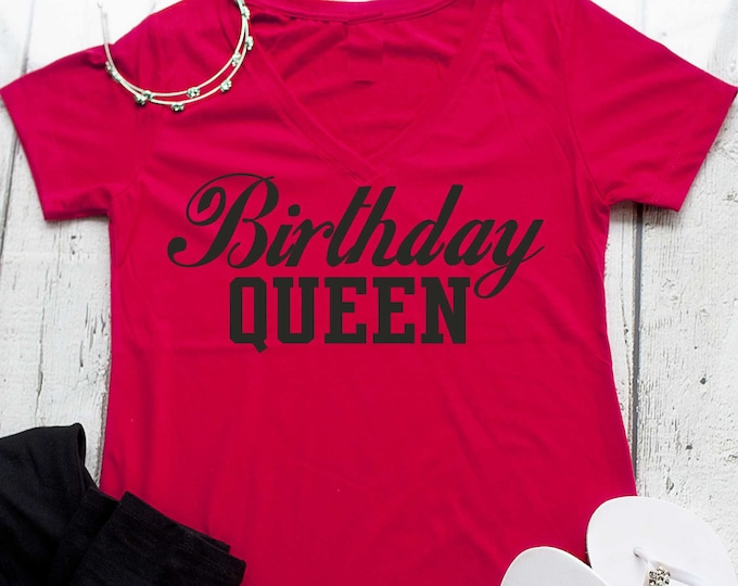 Birthday Queen Shirt Womens T For The