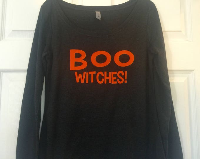 Funny ghost shirt . Boo witches Halloween shirt . Halloween tees . Women's Halloween shirts . Boo . Funny humor ladies spooky shirt .