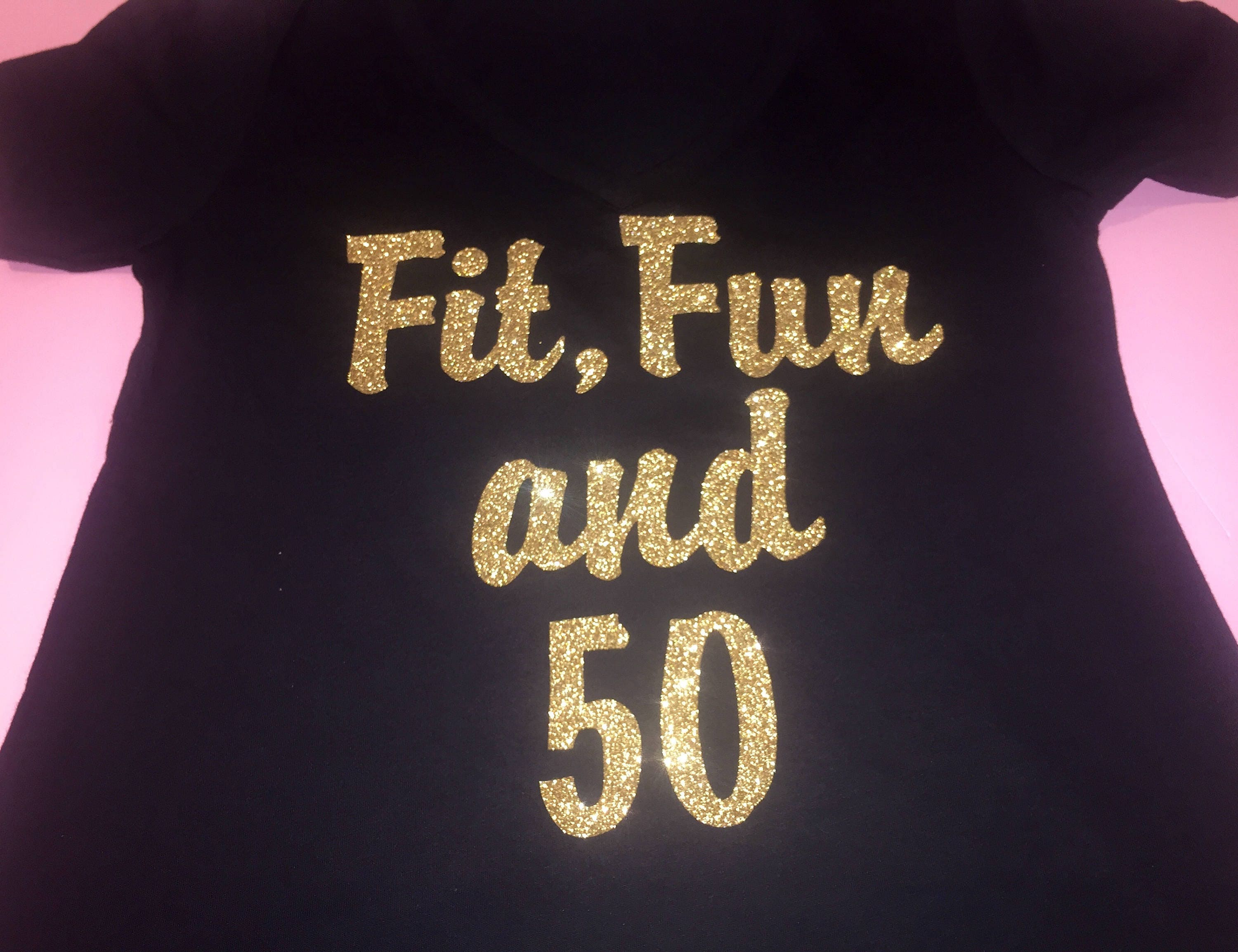 50th Birthday Shirts Ladies Fifty Tshirts Personalized Gallery Photo