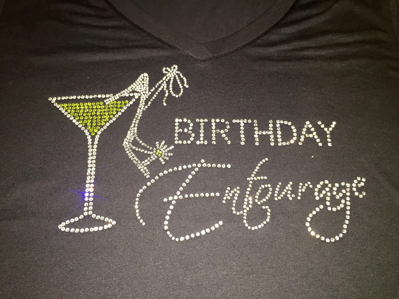 17a5ea076 7 Birthday Diva Entourage tank top / ladies birthday tank tops / 21st 30th  40th 50th / girls weekend tank tops / rhinestone birthday tanks