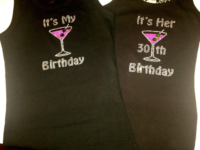 3 4 5 6 7 Birthday Shirts Its My 30th Birthday Etsy