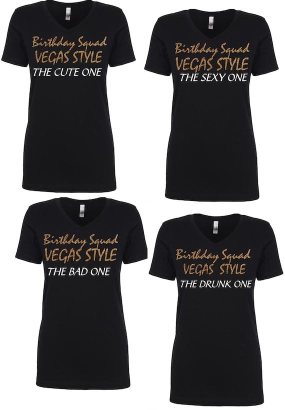 6 Birthday Squad Shirts Womens Destination