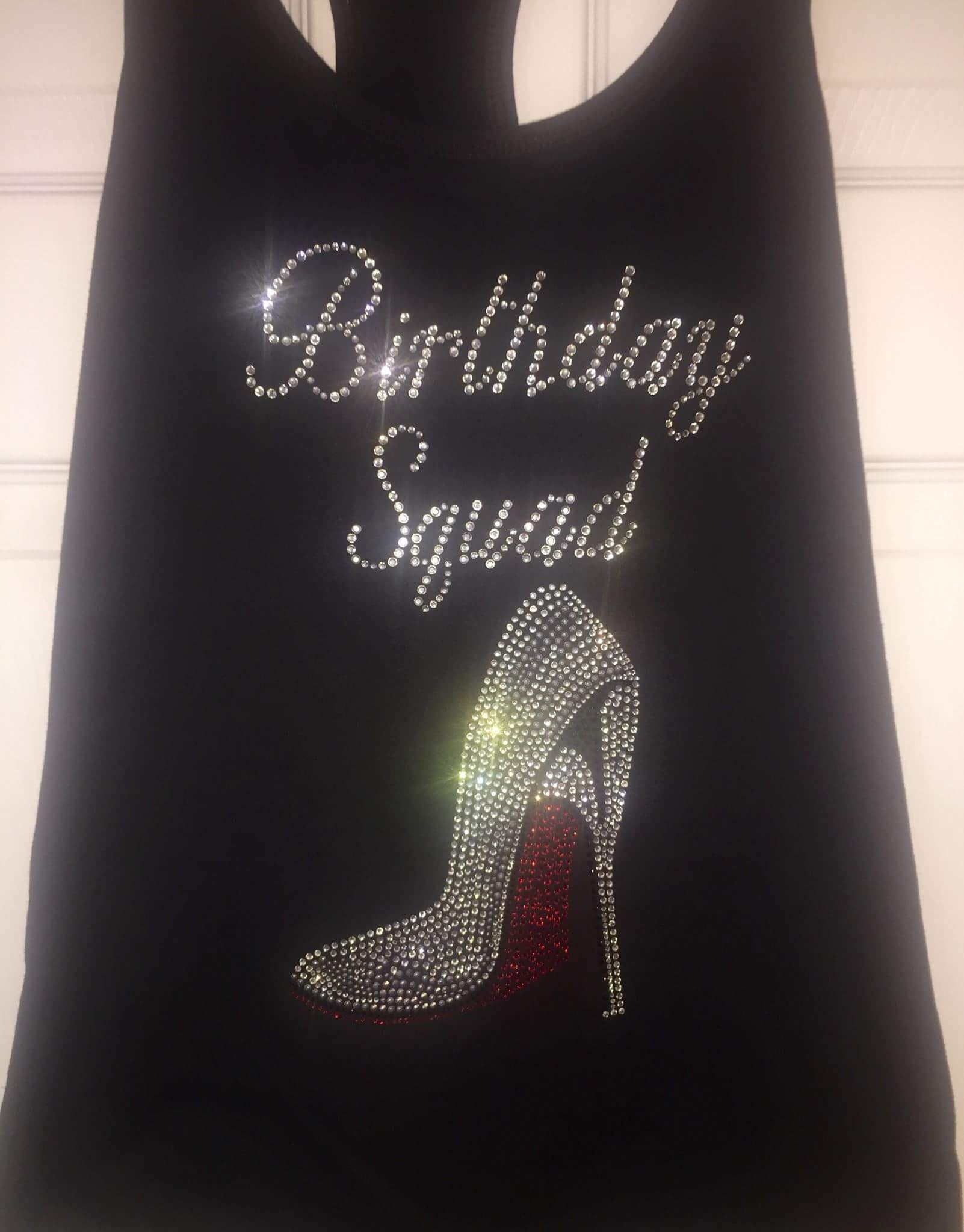 6 Birthday Shirts Adult Squad With A Red High Heel Shoe Entourage Nashville T