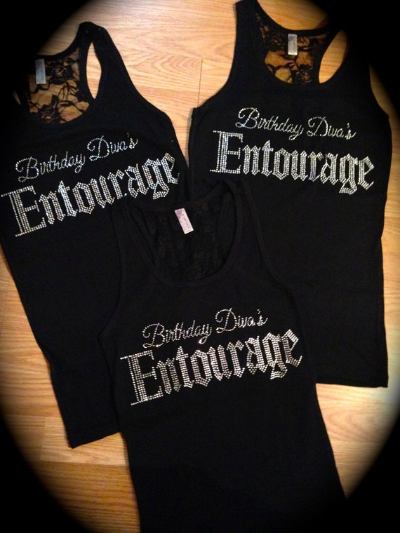 9 Birthday Shirts Divas Entourage Shirt