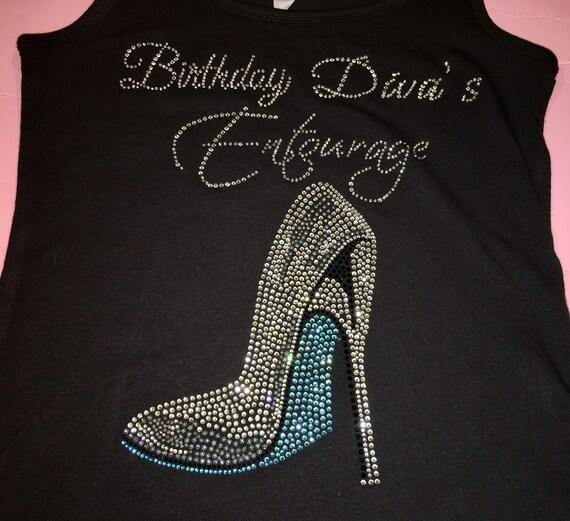 86f261c7c Birthday divas entourage shirts . Las Vegas birthday bling   Etsy