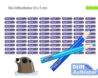 Schulstarter-Set mit Name Tarantula Stickerbogen Aufkleber Schulanfang