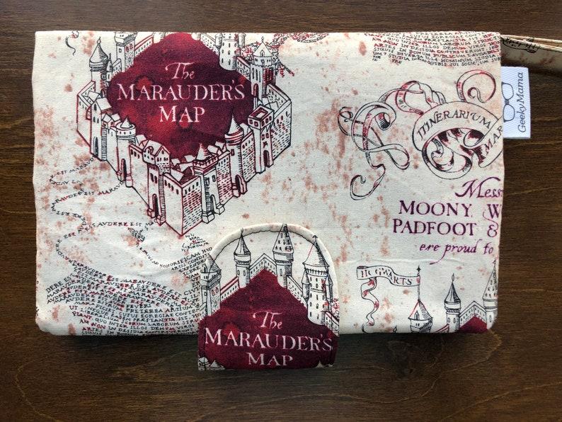 Marauder/'s Map Diaper Clutch