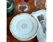 Set of 6 Theodore Haviland Limoges France Salad Plates Dessert Plates