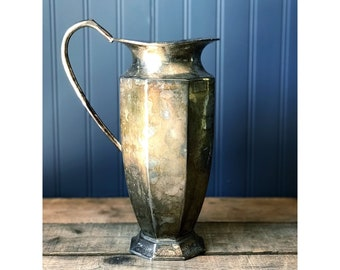Silver Water Pitcher Made in India