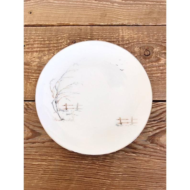 Vintage Winterling Bavaria Set of 6 Bread and Butter Plates image 0