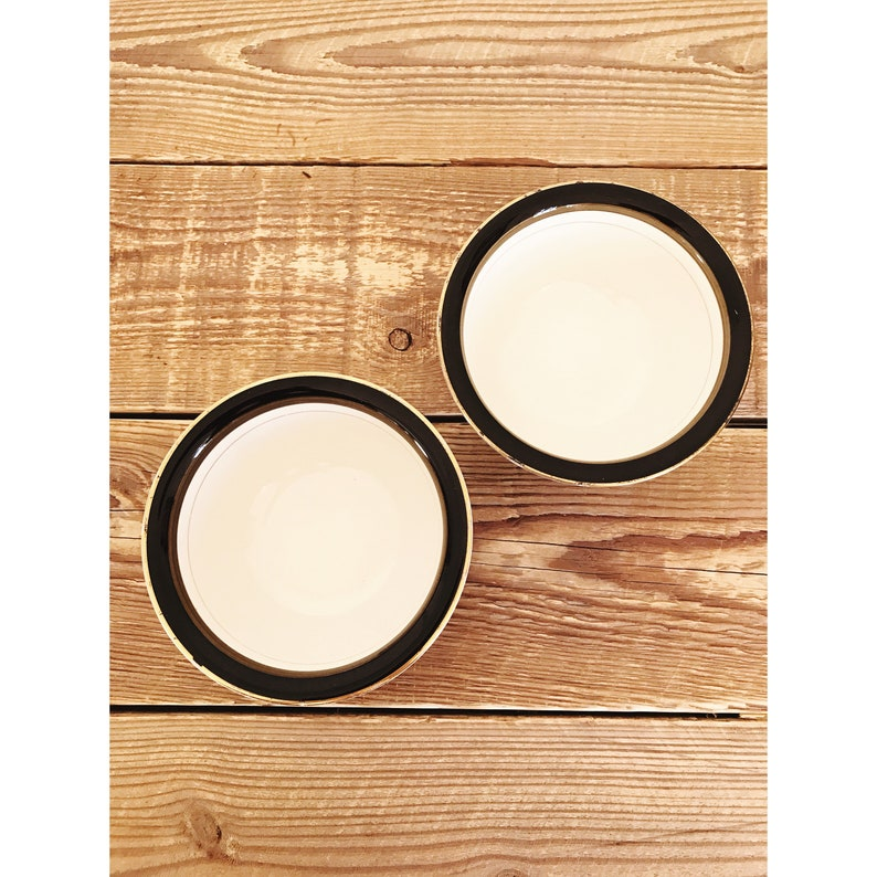 Pair of Vintage Mikasa Transition Cappuccino Cereal Bowls image 0
