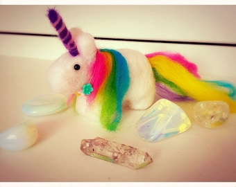 Needle Felted Unicorn in any colour combination