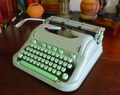 SORRY, SOLD Hermes 3000 Typewriter, 1963 Techno Font Superior, original, as-new condition. Fully Serviced with new platen. Guaranteed.