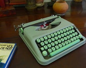 Hermes Baby Typewriter, 1963, Superior, original, as-new condition, with Hermes Tool-box. Fully Serviced. Guaranteed.