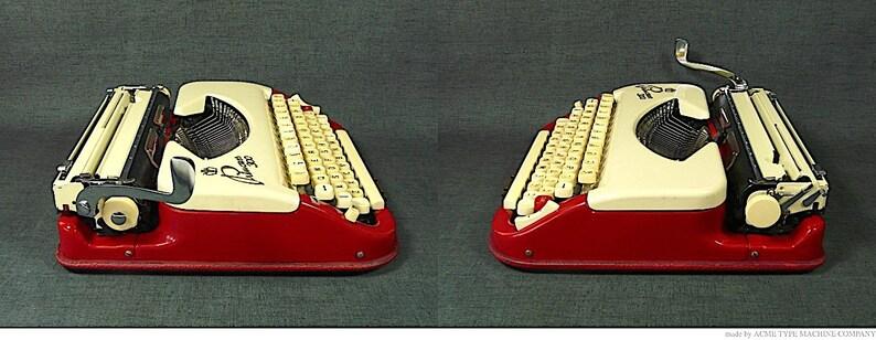 Superb condition 1962 Guaranteed. Rare QWERTY Princess 300 Typewriter original colour