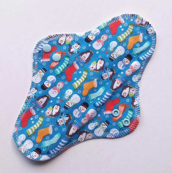 13 Heavy Cotton Jersey CSP - Reusable Sanitary Pad In Stock 2.25 snapped