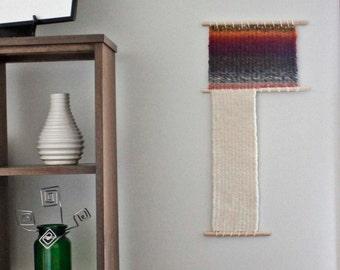 Modern Wall Tapestry, Large Woven Wall Hanging,Wool Wall Weaving, Fiber Wall Art, Colorful Weaving, Contemporary Art, Fiber Weaving,