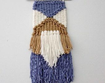 Boho Weaving, Woven Wall Hanging, Tapestry, Dorm Decor, Wall Weaving, Fiber Wall Art, Yarn Hanging, Woven Wall Art, Weaving, Wall Art