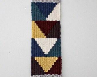 Long Weaving, Woven Wall Hanging, Fiber Art, Weaving, Tapestry, Woven Wall Art, Autumn Decor