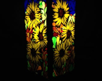 To order. Mosaic stained glass lamp