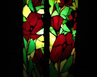 To order. . Mosaic stained glass table lamp