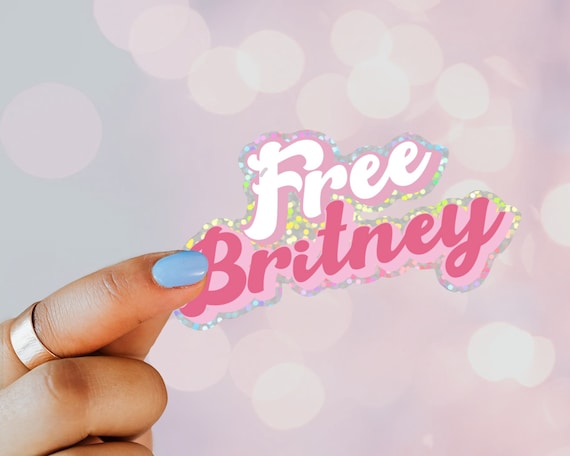 Free Britney Decal Sticker