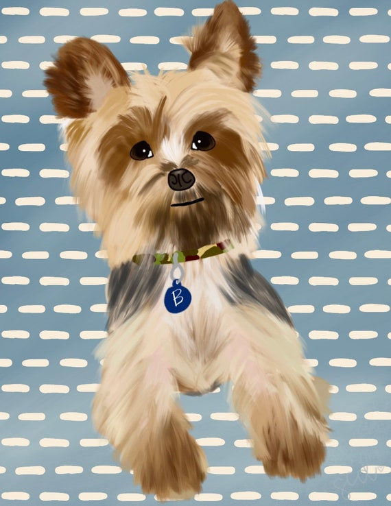 Custom Drawn Pet Portrait
