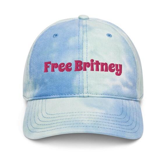 Free Britney Tie dye hat