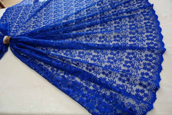 Tulle Fabric - Navy Blue Tulle Fabric - Blue Lace Fabric - Tulle Skirt - Wedding Tulle Fabric - Tulle Dress - Tulle Bridal Fabric