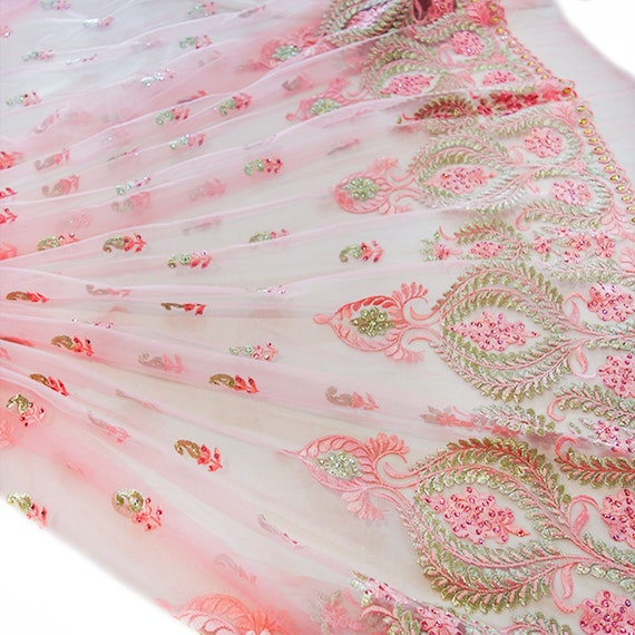 Pink Tulle Fabric - Bridal Tulle Fabric - Pink Tulle Skirt - Wedding Tulle Fabric - Tulle Dress - Tulle Bridal Fabric - Bridal Tulle