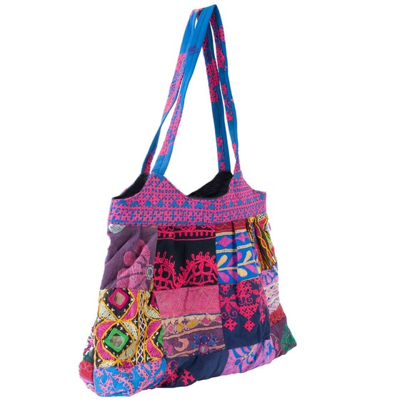 Kutch Pink Patchwork Bag