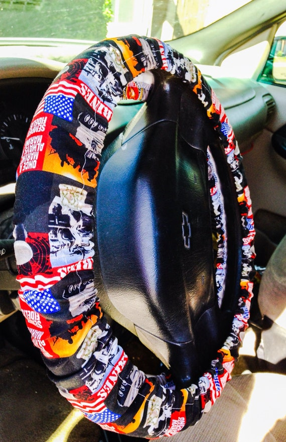 Marines Steering Wheel Cover for Cars