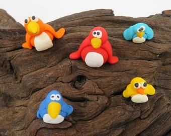 Penguin / Penguin mascot / Penguin ornament/ Penguin model/ Miniature penguin/Handmade gift