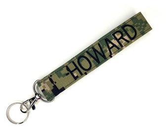 Custom Nametape Keychains For Military Families Gift Idea For Miliary Sister Wife Mom Aunt Fiancee Personalized Military Nametape Lanyard