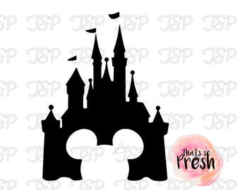 Disney Castle Decal, Disney Decal, Disney Castle Sticker, Disney Castle Vinyl Decal, Disney Vinyl Decals
